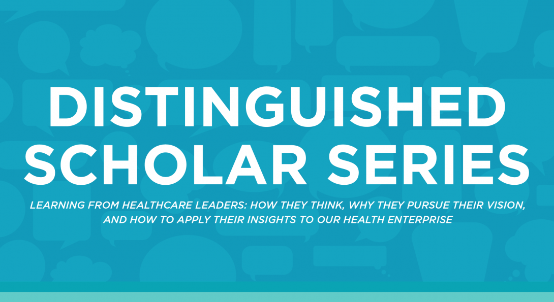 Distinguished Scholar Series Banner
